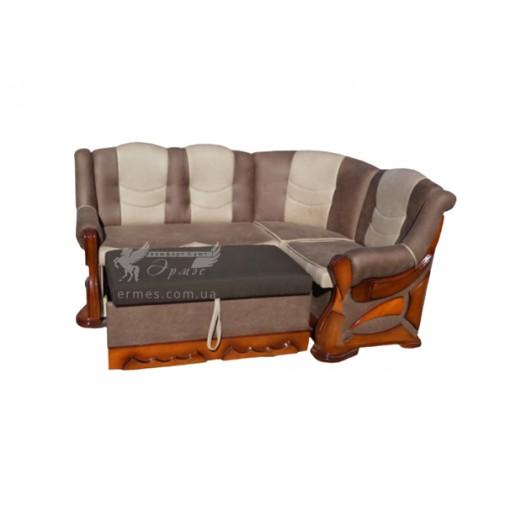 """Кухонный уголок """"Визит"""" раскладной Микс мебель (со спальным местом)"""