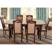 """Стол обеденный раскладной """"Квартет"""" Микс мебель (прямоугольный деревянный)"""