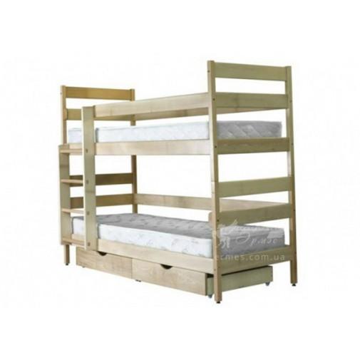 """Ліжко дерев'яна """"Дісней"""" Мікс меблі"""