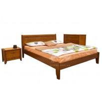 """Кровать деревянная """"Сити"""" без изножья с интарсией Микс мебель"""