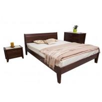 """Кровать деревянная """"Сити"""" филенка без изножья Микс мебель"""