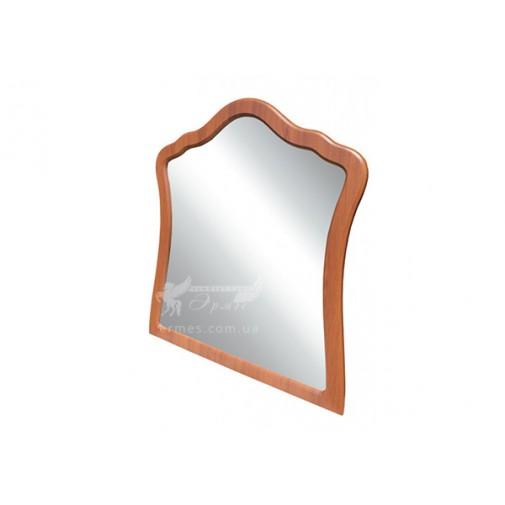 """Дзеркало """"Лючія"""" Німан (прямокутне фігурною рамою з нанесенням патини)"""