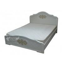 """Кровать """"Лючия"""" Неман (белая с высоким изголовьем)"""