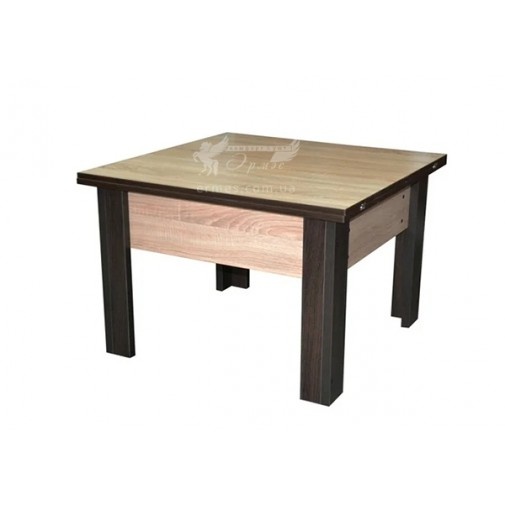 """Журнальний стіл """"Комфорт Лайт"""" Німан (квадратний чайний столик)"""