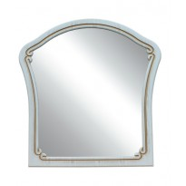 """Зеркало """"Альба"""" Неман (в фигурной, белой раме)"""