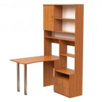 """Комп'ютерний стіл Нова """"Альтаїр"""" Ніка меблі (з бічною відрітої прибудова)"""