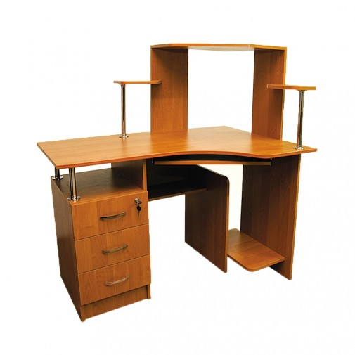 Компьютерный стол Nika 4 Ника мебель (с открытой надстройкой)