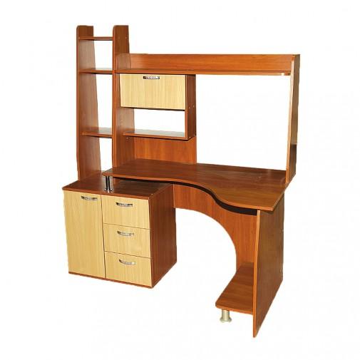 Комп'ютерний стіл Nika 5 Ніка меблі (з функціональною надбудовою)