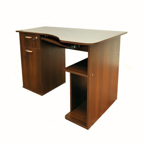Комп'ютерний стіл Nika 17 Ніка меблі (з двома тумбами)