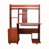 Комп'ютерний стіл Nika 27 Ніка меблі (мобільний на коліщатках)