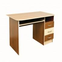 Компьютерный стол Nika 43 Ника мебель (с тумбой с ящиками)