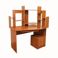 Комп'ютерний стіл Nika 44 Ніка меблі (з скроню Відкритої надбудовою)
