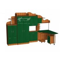 Детская Престиж  Д-11(1)  Тиса мебель (набор детской мебели)