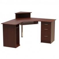 """Компьютерный стол """"Дафнис"""" Ника мебель (угловой с тумбами)"""