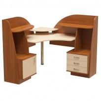 """Комп'ютерний стіл """"Дельта"""" Ніка меблі (кутовий з прибудова)"""