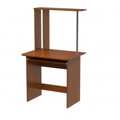 """Комп'ютерний стіл """"Ірма-80 +"""" Ніка меблі (з відкрітою надбудовою)"""