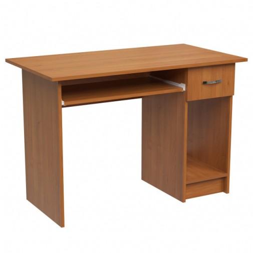 """Компьютерный стол """"Калипсо"""" Ника мебель (прямой с ящиком)"""