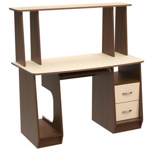 """Комп'ютерний стіл """"Електра"""" Ніка меблі (з ящиками и надбудовою)"""