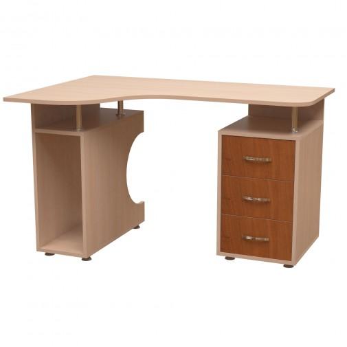 Комп'ютерний стіл НСК 18 Ніка меблі (з двома тумбами)