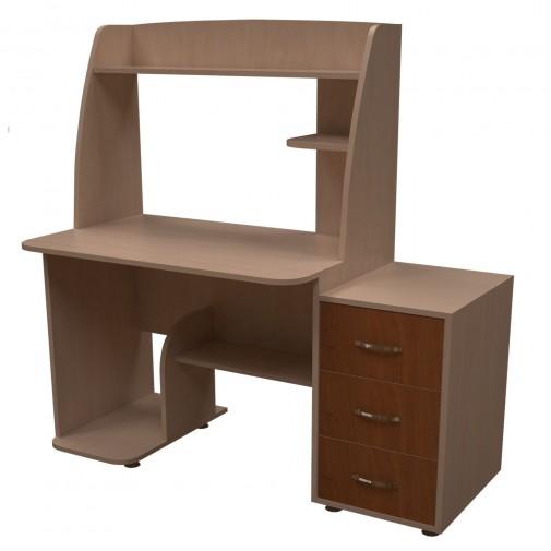 Комп'ютерний стіл НСК 19 Ніка меблі (з невелика надбудовою)