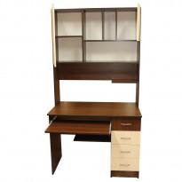 Компьютерный стол НСК 12 Ника мебель (с высокой надстройкой)