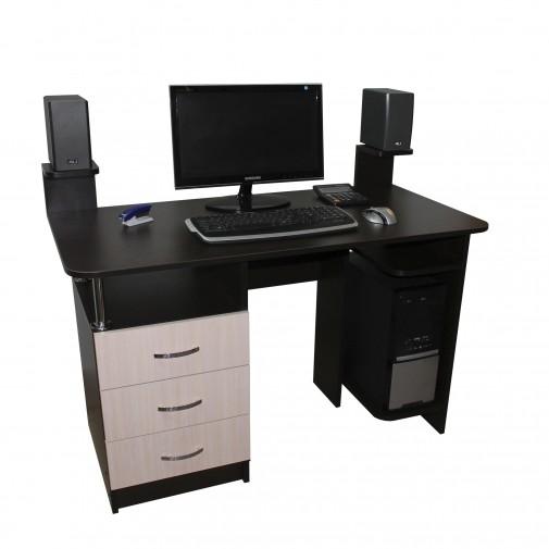 Комп'ютерний стіл НСК 15 Ніка меблі (з висувна ящиками)