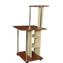 Компьютерный стол НСК 16 Ника мебель (мобильный на колесиках)