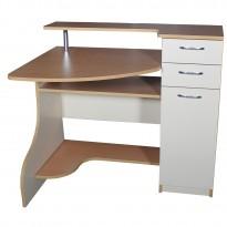 Компьютерный стол НСК 2 Ника мебель (с ящиками)