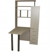 Комп'ютерний стіл НСК 3 Ніка меблі (з Закритим акціонерним пеналом)
