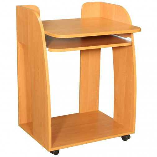 Комп'ютерний стіл НСК 5 Ніка меблі (мобільний на коліщатках)