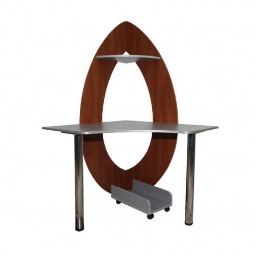 """Комп'ютерний стіл """"Персефона"""" Ніка меблі (компактний кутовий)"""