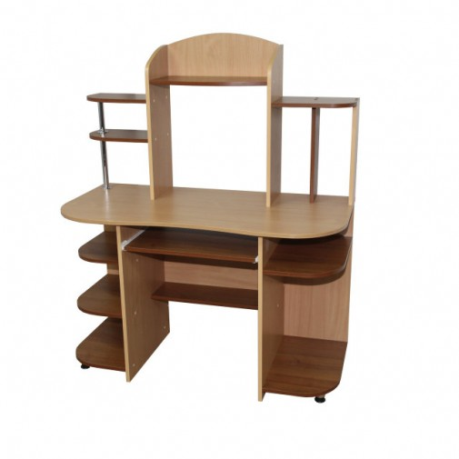 """Комп'ютерний стіл """"Протей"""" Ніка меблі (з відкрітімі поліції)"""