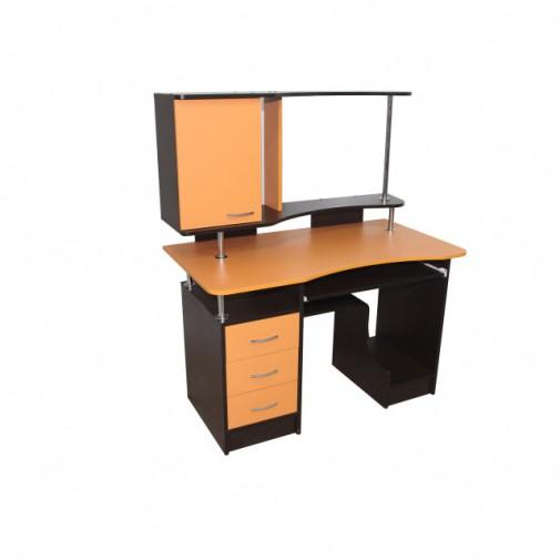 """Компьютерный стол """"Тритон"""" Ника мебель (с закрытым шкафчиком)"""