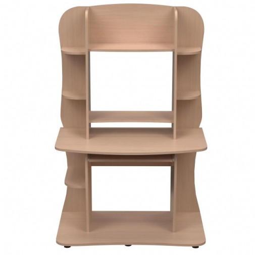 Компьютерный стол НСК 25 Ника мебель (компактный с надстройкой)
