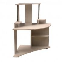 Компьютерный стол НСК 40 Ника мебель (угловой с надстройкой)