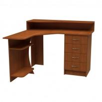 Комп'ютерний стіл НСК 43 Ніка меблі (кутовий з ящиками)