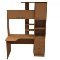Компьютерный стол НСК 48 Ника мебель (угловой с надстройкой)