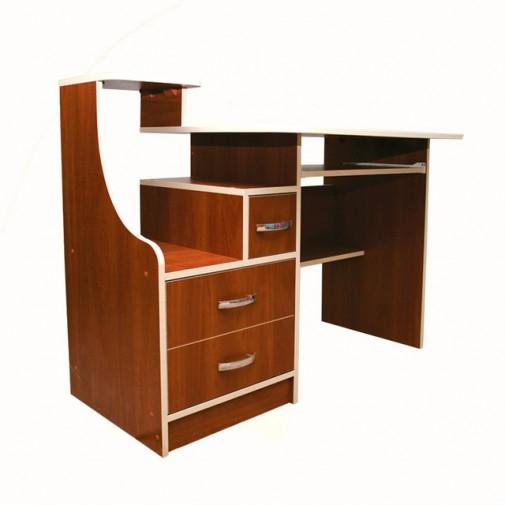 Компьютерный стол Nika 21 Ника мебель (с ящиками разного размера)