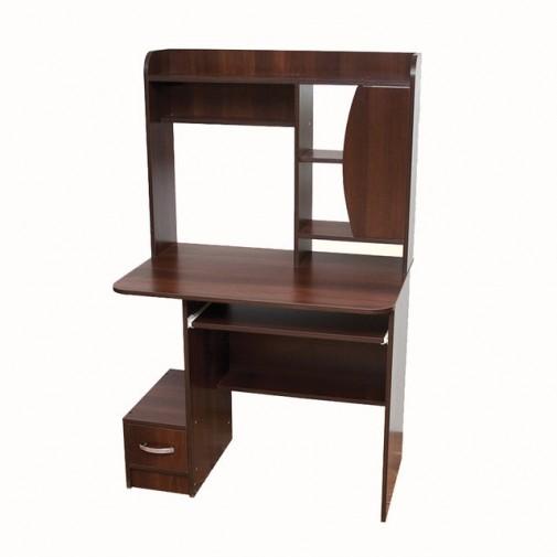 Комп'ютерний стіл Nika 22 Ніка меблі (Невеликий з відкрітою надбудовою)