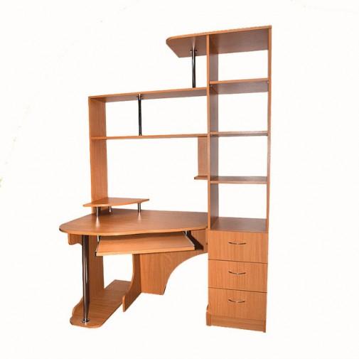 Комп'ютерний стіл Nika 30 Ніка меблі (з відкрітою прісторойкой)