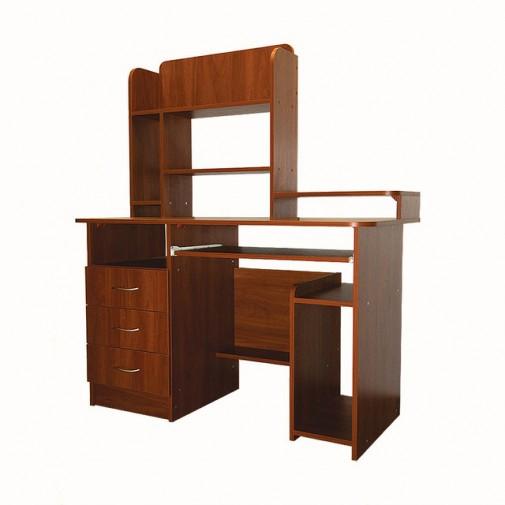 Комп'ютерний стіл Nika 31 Ніка меблі (функціональний з ящиками)