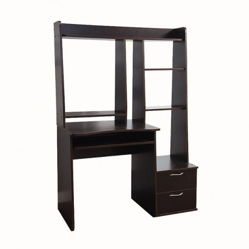 Компьютерный стол Nika 32 Ника мебель (компактный с открытой надстройкой)