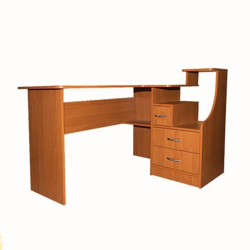 Компьютерный стол Nika 33 Ника мебель (с широкой рабочей поверхностью)