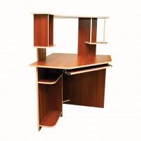 Компьютерный стол Nika 38 Ника мебель (угловой с надстройкой)