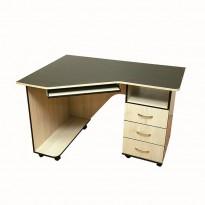 Компьютерный стол Nika 40 Ника мебель (мобильный на колесиках)
