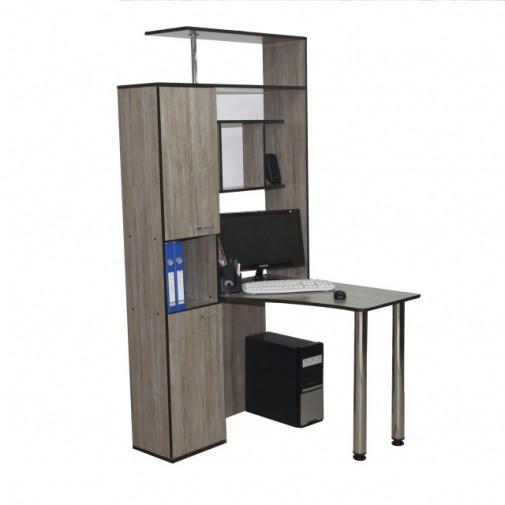 """Комп'ютерний стіл """"Антей"""" Ніка меблі (з скроню надбудовою)"""