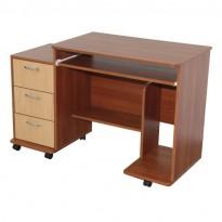 """Комп'ютерний стіл """"Арес"""" Ніка меблі (з тумбою з ящиками)"""