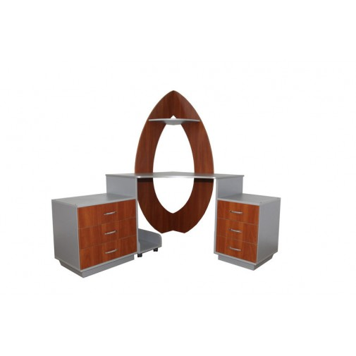 """Компьютерный стол """"Артемида"""" Ника мебель (угловой с тумбами)"""