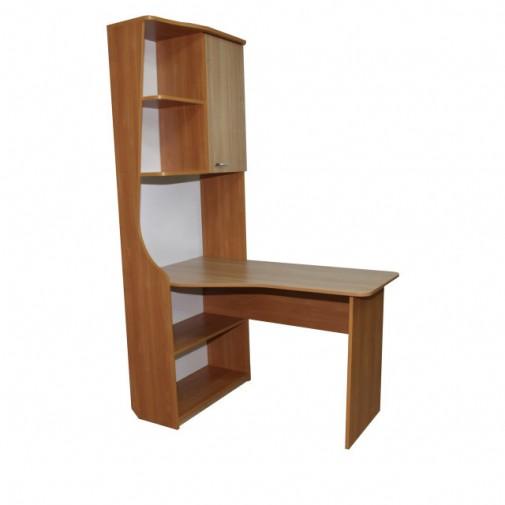 """Комп'ютерний стіл """"Геліос"""" Ніка меблі (з бічною прибудова)"""