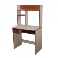 """Компьютерный стол """"Ирида"""" Ника мебель (компактный с надстройкой)"""